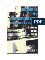 Sistema de Mantenimiento DUFFUAA Part 1