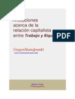 Acerca de La Relacion Capitalista Entre Trabajo y Riqueza (1)