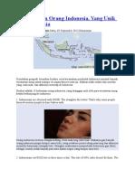 10 Kebiasaan Unik Orang Indonesia