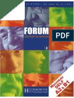 Hachette - Forum Méthode de Francais 2 Delf a2-b1