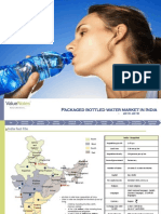 Packaged Bottled Water Market in India 2013-2018_Slide Share