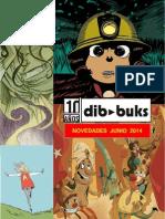 Novedades Dibbuks Junio 2014