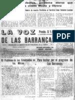 Periodico Las Barrancas