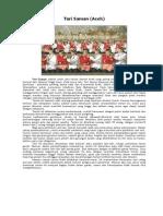 Kliping Tarian Daerah Di Indonesia