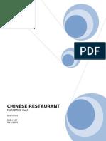 42591723 Chinese Restaurant Marketing Plan 1