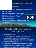 Human Resource Management - Unit 1