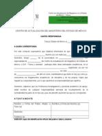 Formato de Carta Responsiva