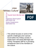 Article Review MILITARY