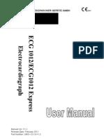 ECG1012ECG1012Express User Manual-V1.2