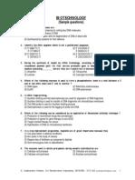 Biotech Qns 1