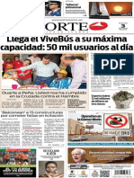 Periódico Norte edición impresa del día 3 de junio del 2014
