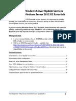 Wsus 2012r2e Guide