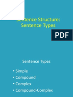 Types of Sentence Structure