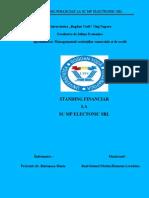 Standing Financiar