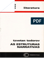 As Estruturas Narrativas - Tzvetan Todorov