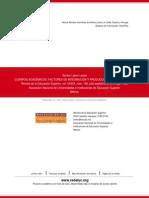 CUERPOS ACADÉMICOS- FACTORES DE INTEGRACIÓN Y PRODUCCIÓN DE CONOCIMIENTO (1)