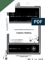 Combustor Modelling