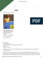 Wangari Maathai - Nobel Lecture