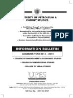 Admission Info Bulletin