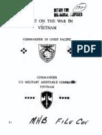 Report Vietnamwar Macv
