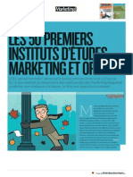 2013 04 01 BVA Parmi Les Premiers Instituts d'Etudes Marketing Et Opinion