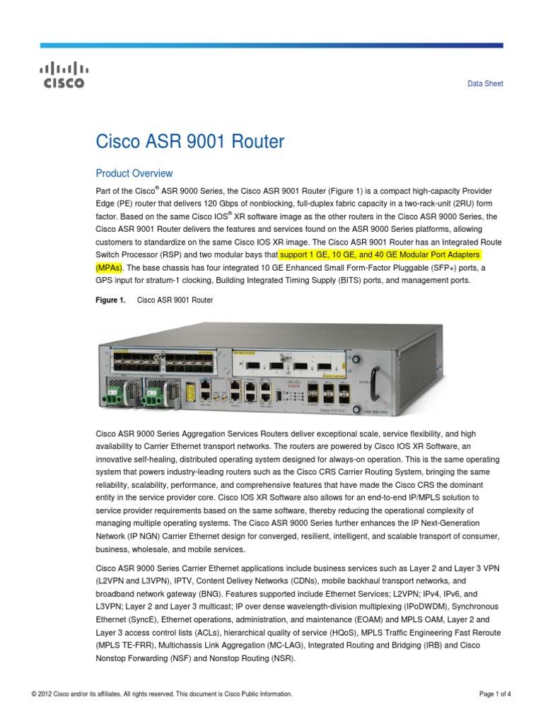 Asr 9001 Datasheet