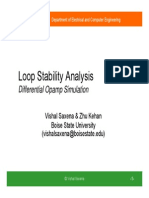Loop Stability Analysis
