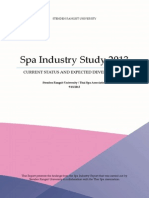 Thailand Spa Industry Report 2013