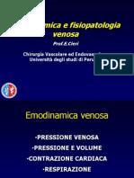 11 - Emodinamica e Fisiopatologia Venosa