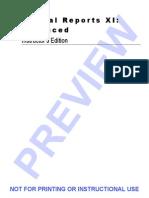 Crystal Reports Xi - Advanced 1418861472pv
