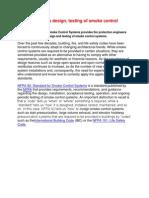 NFPA 92,3, 101 Defines Design