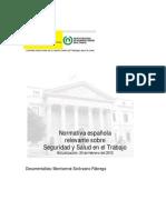 Normativa Espanola Seguridad-2012[1]