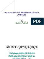 Body Language Session