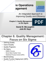 Quality Management - Focus on Six Sigma