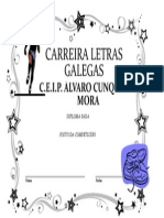 Diploma Letras Galegas