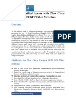 Expand Unified Access With New Cisco Catalyst 3850 SFP Fiber Switches