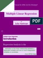 Multiple Linear Regression