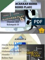 perencanaan Bisnis (Busines Plan)