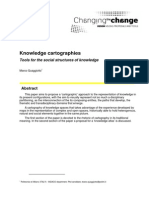 Knowledge-cartographies - Tools for the Social Structure of Knowledge