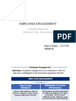 Employee Engagement in organisations