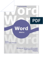 Apostila Word Basico 2000
