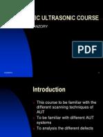 Automatic Ultrasonic Course