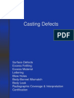 Casting Defects - Rm