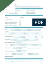 formulario de candidatura
