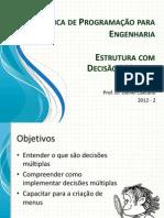 Linguagem programação engenharia Aula10
