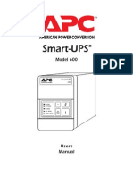 Apc Smart-ups Model-600 Info No-sch