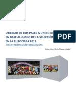 Utilidad de los pases a uno o dos toques de la selección.pdf