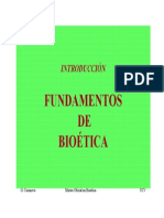 Fundamentos de La Bioetica