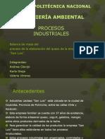 Procesos Industriales Proyecto San Luis