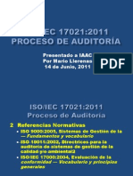 ISO-IEC 17021-2011 - Proceso Auditoria